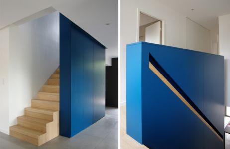 escalier bas et haut - MLEL par Dank Architectes -France