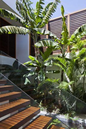 escalier bois extérieur - sofka par MM++ Architects - Phan Thiet, Vietnam