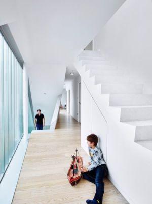 escalier & couloir - MaHouse par Marc Formes - France
