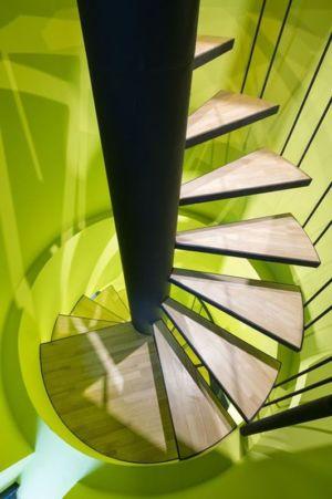 escalier design - Wind-House par Moonbalsso - Jesu Island, Corée du Sud