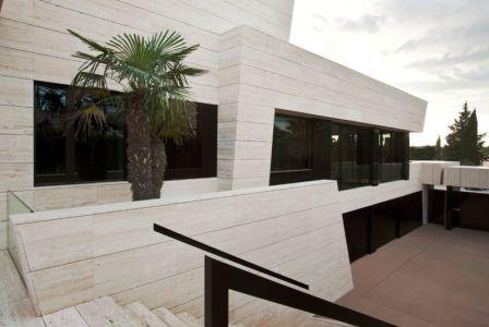 escalier extérieur - SV-House par A-Cero - Seville, Espagne