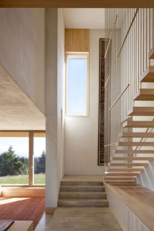 escalier intérieur - Karuna House par Holst Architecture - Newberg, OR, Usa