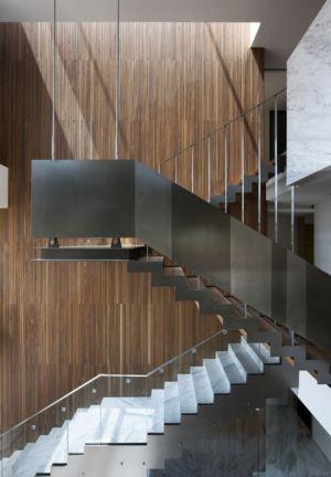 escalier marbre et métal - Customi-Zip par L'EAU design - Gwacheon-si, Corée du Sud