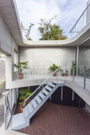 escalier rez de chaussée - g-house par Esau Acosta - El Sauzal, Espagne
