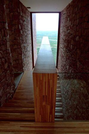 escalier - Paz & Comedias House par Ramon Esteve - Sagunt, Espagne