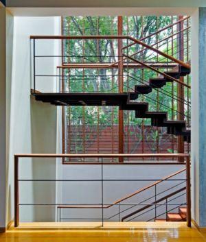 escaliers - Bhuwalka House par Khosla Associates - Bangalore, Inde