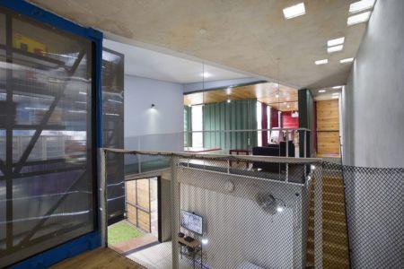 espace étage - Container-Urban par Atelier Riri - Bekasi, Indonesie