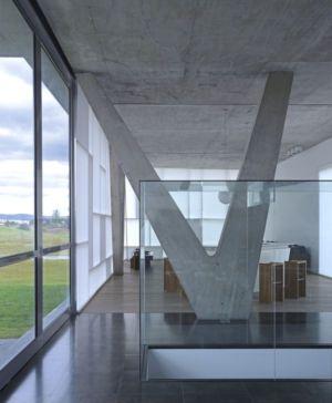 espace étage supérieur - Campanario-2 par Axel Duhart Arquitectos - Santiago-Querétaro, Mexique
