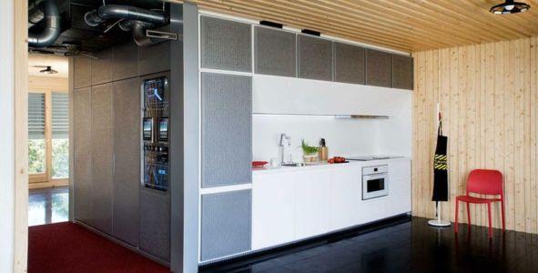 espace cuisine - Spaceship Home par Noem Spaceship - Madrid, Espagne