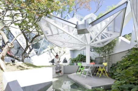 espace eau - HWA HUN par IROJE KHM Architects - Pyeongchang-dong, Corée du Sud
