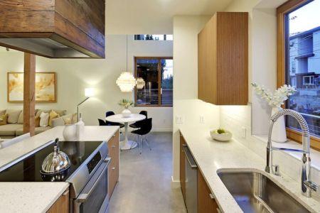espace pièce de vie - Emerald Star par Dwell Development - Seattle, USA