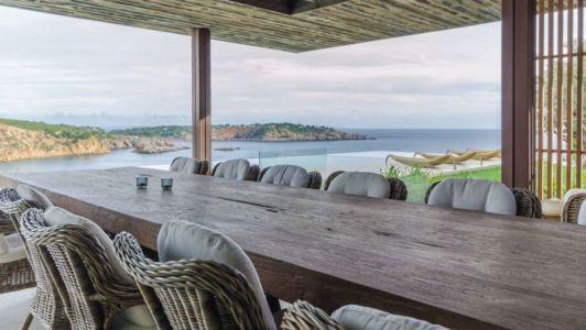espace salon terrasse design - Stunning-Villa par Villa Majestic - Ibiza, Espagne