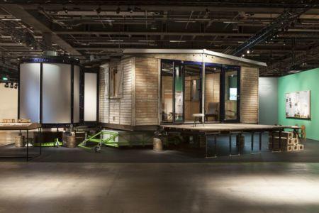 exposition - Maison démontable Jean_Prouve_6x6 par RSHP