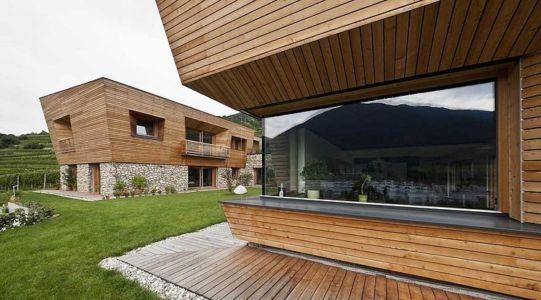 extérieur - Brunner House par Norbert Dalsass - Italie
