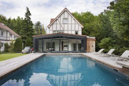 extension - Rénovation Maison V - Olivier Chabaud Architecte - France