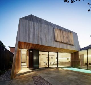 extension de nuit - Rénovation contemporaine par Coy Yiontis Architects - Balaclava, Australie