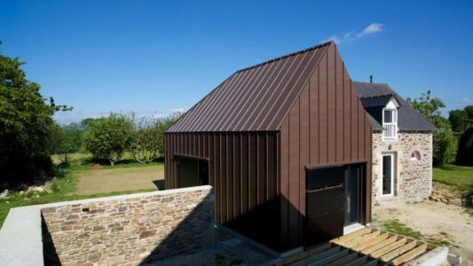 extension maison contemporaine - Le-Bourg-Neuf par ng-architecte - Bretagne, France