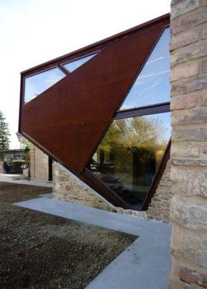 extension ouverture vitrée - Recupero-casa par Rocco Valentini - Chieti, Italie