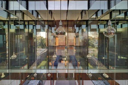 façace baie vitrée - spiegel-haus par Carterwilliamson Architectes - Sydney, Australie