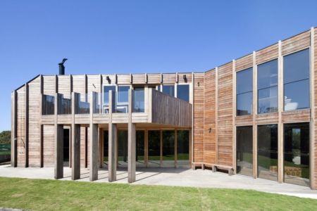 façade - Aireys House par Byrne Architects -  Aireys Inlet, Australie