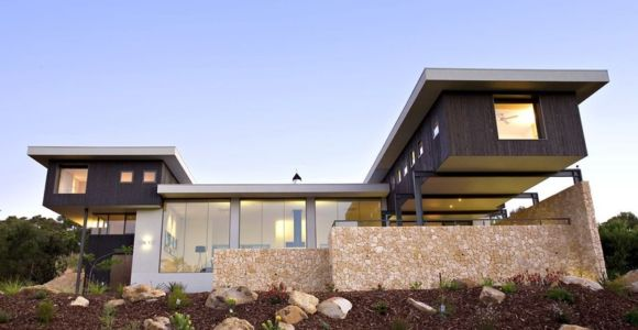 façade - House 14 par Dane Richardson Design - Eagle Bay, Australie