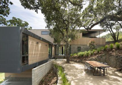 façade L - résidence d'été par Shands Studio Architects - San Anselmo, Usa