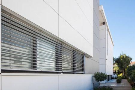façade - Maison contemporaine béton par Ron Aviv - Tel Aviv, Israël