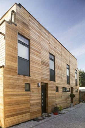 façade - Maisons jumelées par MAG architectes - France - photo Stéphano Candito