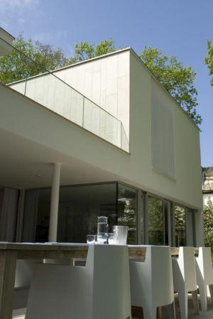 façade - Villa contemporaine par Clijsters Architectuur Studio - Bilthoven, Pays-Bas