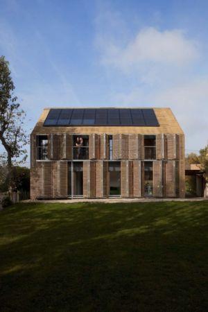 façade - Witzmann résidence par Karawitz Architecture - France - Photo Nicholas Calcott