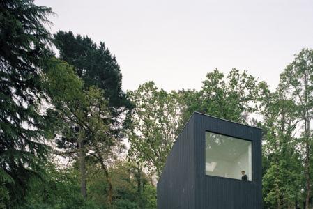 façade  étage - maison bois secondaire par RAUM - France -  Photos - Audrey Cerdan