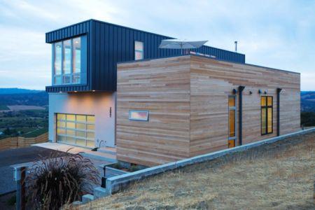 façade arrière - Cloverdale par Elemental Architecture - Usa - Jaime Kowal Photography
