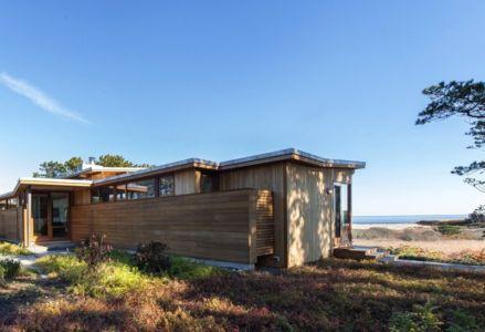 façade arrière - Long Dune Residence par Hammer Architects - Truro, Usa