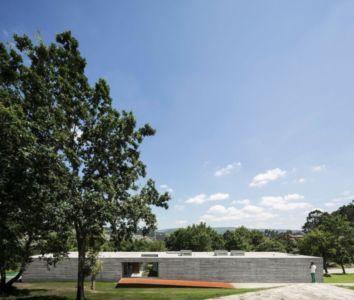 façade arrière - Sambade House by spaceworkers - Penafiel, Portugal