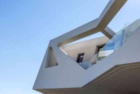 façade béton étage - Paradox house par Klab architecture - Athènes, Grèce