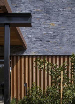 façade béton & bardage bois - NS-Residence par Blatman Cohen Architects - Netanya, Israël