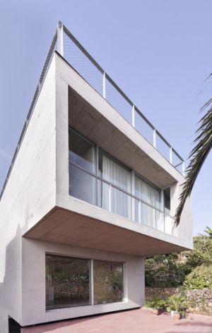 façade baie vitrée - g-house par Esau Acosta - El Sauzal, Espagne