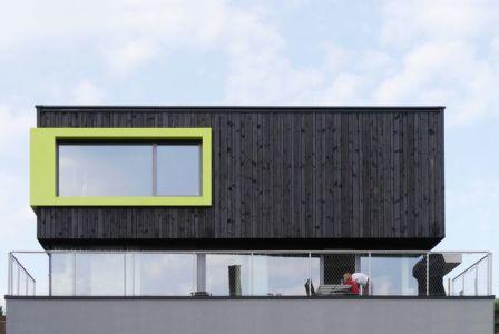 façade balcon - House-Wilhermsdorf par René Rissland - Wilhermsdorf, Allemagne