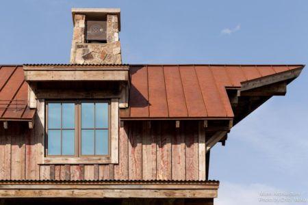 façade bardage bois et toiture - Camp 88 par Munn Architecture - Colorado, USA