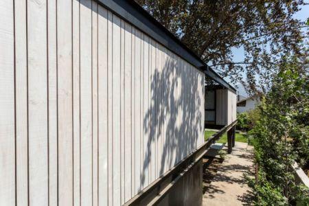 façade bois - House-LG10182 par Brugnoli Asociados Arquitectos - Santiago, Chili