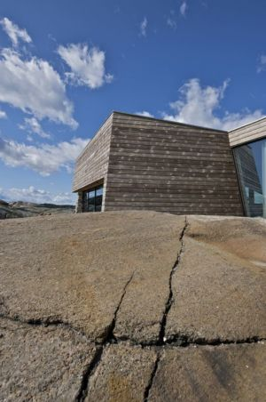 façade bois - Summer-House par JVA - Vestfold, Norvège