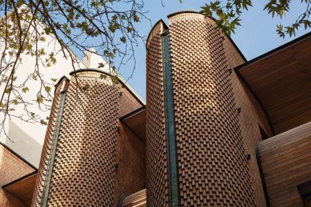 façade briques - Kaveh-House par Pargar Architecture and Design Studio - Téhéran, Iran