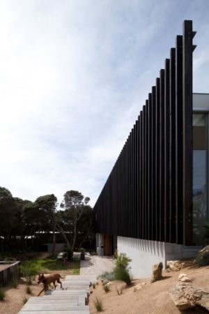 façade brise soleil - Rye 4 par Pleysier Perkins à Rye, Australie