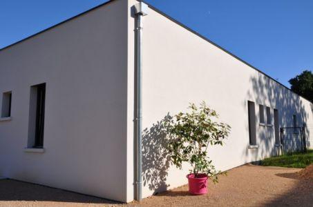 façade côté - Apple-House par Val de Saône Bâtiment - Mâcon, France
