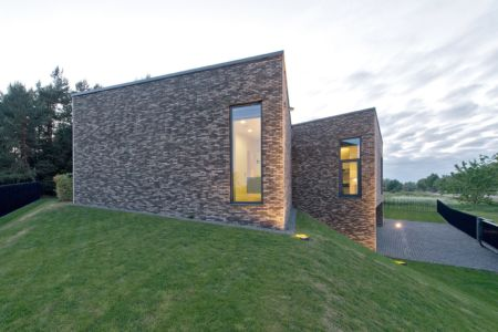 façade côté - Family House par UAB Architektu biuras - Palanga, Lituanie