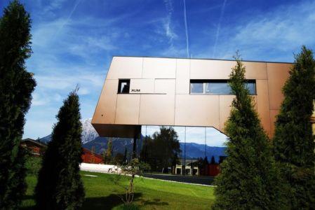 façade côté - Muk par mahore architects - Saalfelden, Autriche