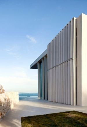 façade côté - Sardinera House par Ramon Esteve Estudio - Valencian Community, Espagne