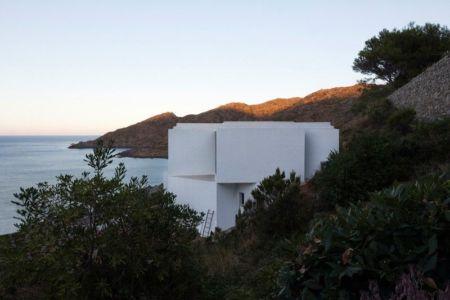 panorama sur la mer- Sunflower House par Cadaval & Solà-Morales - Gérone, Espagne