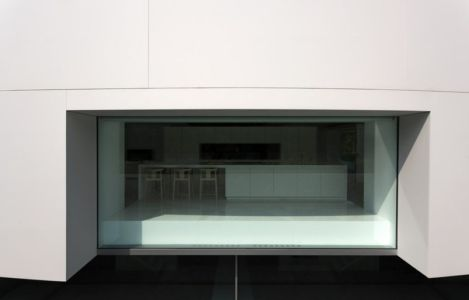 façade cuisine - Casa Balint par Fran Silvestre Arquitectos - Valence, Espagne
