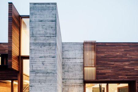 façade en bois - Invermar House par Moloney Architects - Ballarat, Australie